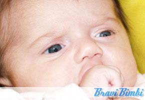 colore degli occhi neonato