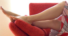 gambe in gravidanza