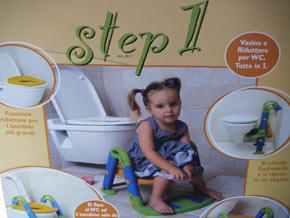 Riduttore Water Ok Baby.Vasino E Riduttore Step 1 Okbaby Bravi Bimbi