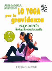 copertina libro lo yoga per la gravidanza