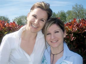 """Daniela e Cristina del blog """"Giocare per Crescere"""""""