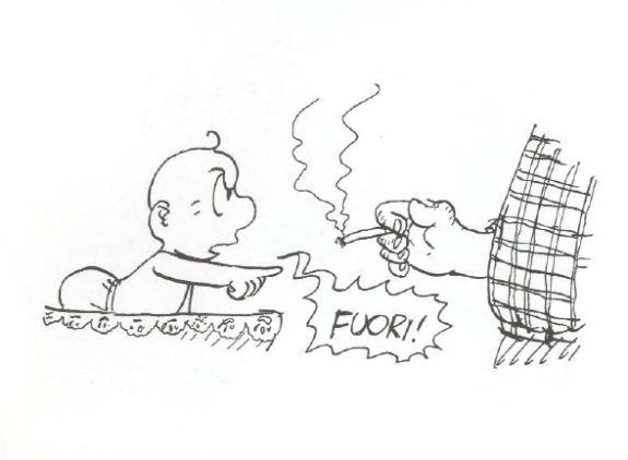 non fumare davanti ai bambini