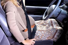 cintura di sicurezza in gravidanza