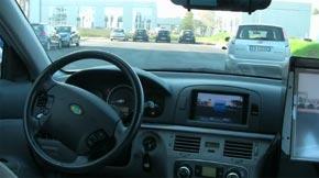 auto senza guidatore