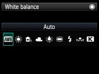 White Balance Canon