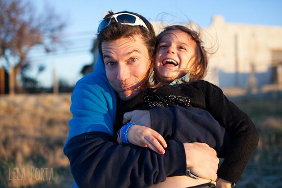 Con papà