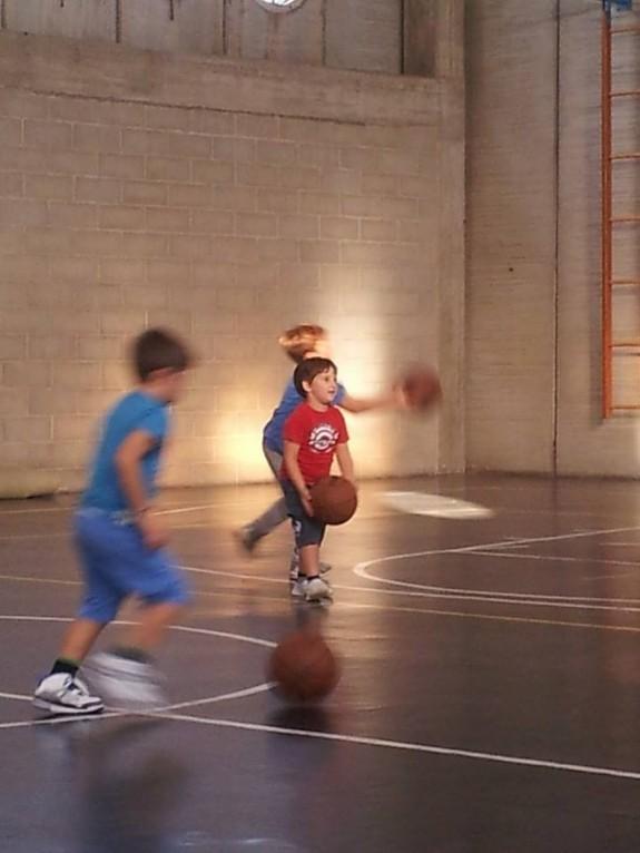 Prova di basket