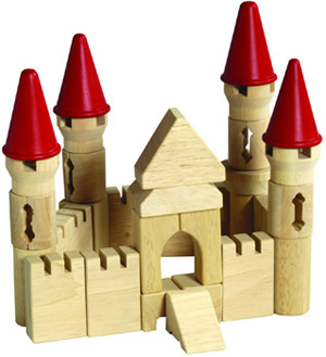 castello di legno