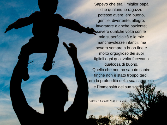 poesia per mio padre