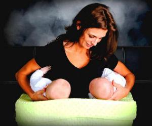 allattamento gemelli