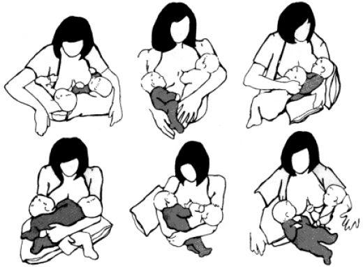 come-allattare-gemelli