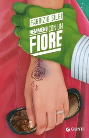 Copertina libro Nemmeno con un fiore