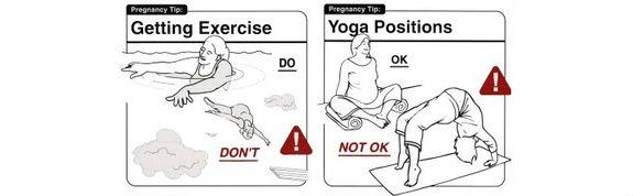 nuoto e yoga in gravidanza