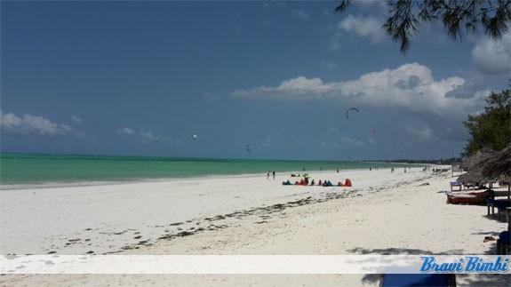 Spiaggia Cristal a Paje
