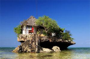 The Rock Restaurant a Zanzibar