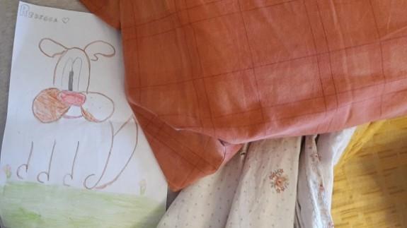 disegno sotto il cuscino
