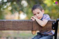 bambino timido