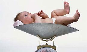 peso bambino