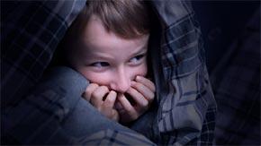 bambino spaventato
