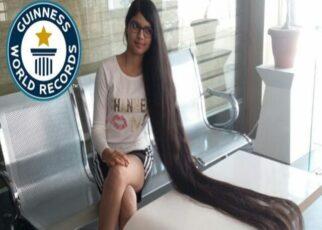 capelli più lunghi al mondo
