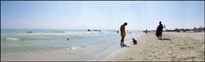 panoramica fiesta beach spiaggia
