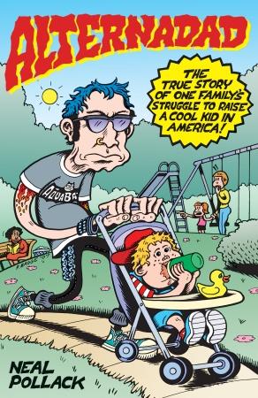 copertina originale libro di Neal Pollack